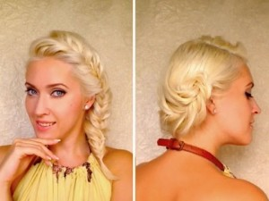 Fishtail Braid Short Hair